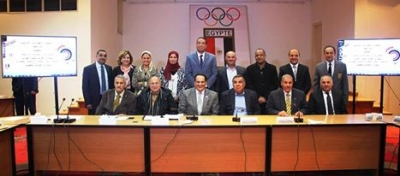 The African sports Confederations from Egypt meets the President for cooperation