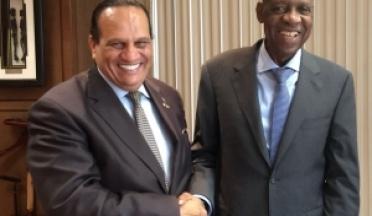 Les Présidents de l'UCSA et de la CAF se sont rencontrés officiellement pour la deuxième fois, au Caire