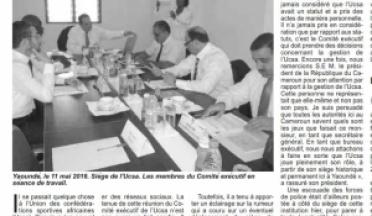 AASC Executive Board meeting in Yaoundé