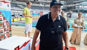 During the final inspection tour of the African games in Casablanca