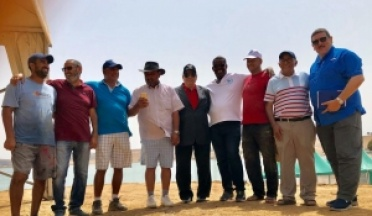 Third day Preparatory tours for the African games in Morocco 2019 for finalizing