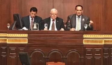 Déclaration de Général Major Ahmed Nasser, Président d'UCSA après la fin de la session parlementaire égyptienne en faveur de l'Afrique